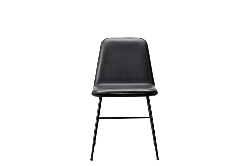 "2. Fredericia, ""Spine Metal Base Dining Chair"""