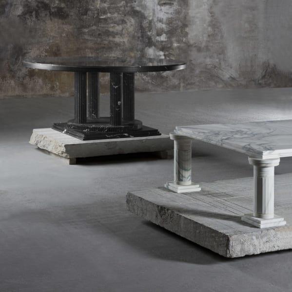 Bis zum 8. März sind Lagerfelds Entwürfe in der Londoner Dependance der Carpenters Workshop Gallery zu sehen.