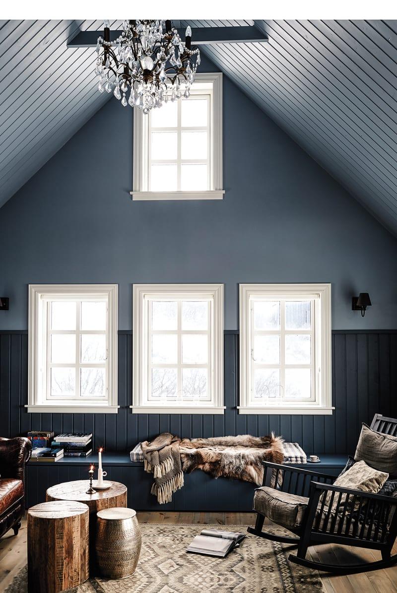 Island Hafnarskógur Wohnzimmer