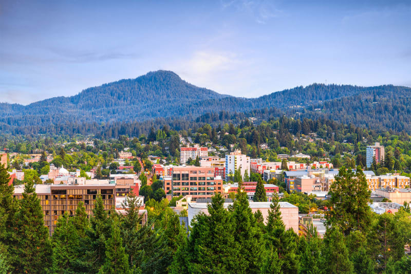 Eugene (Zuwachs von 213 Prozent)