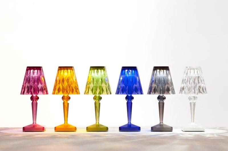 Kartell_Battery_new colours_lit up
