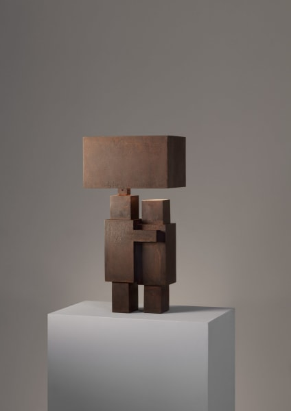 "Atelier Van Lieshout, ""Minimal Kiss Lamp"", 2017."