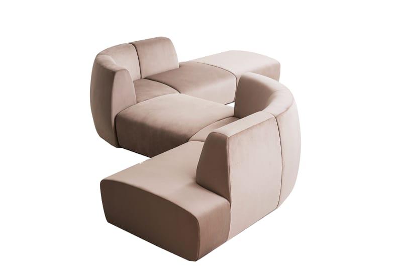 "3. Stellar Works, ""Infinity Sofa"""