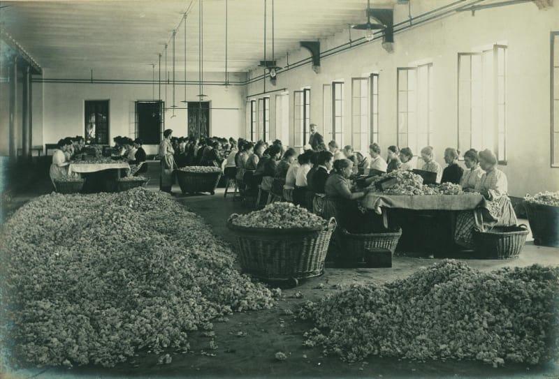 Vintage Abzug von den Werkstätten in Grasse