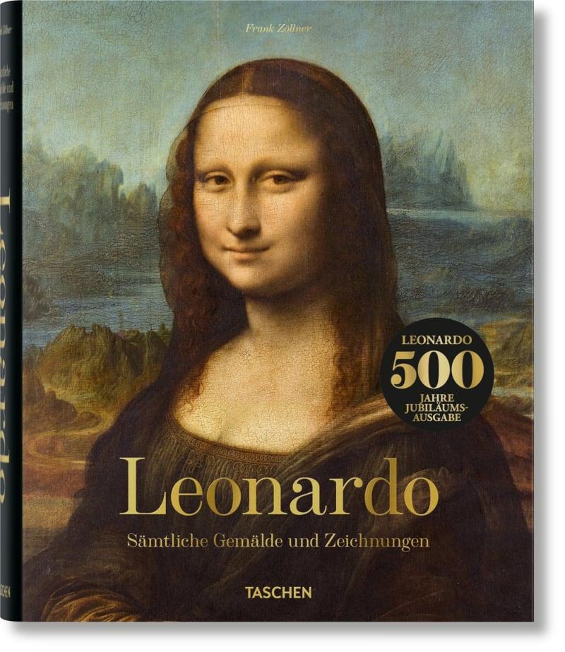 """6. Frank Zöllner: """"Leonardo. Sämtliche Gemälde und Zeichnungen"""""""