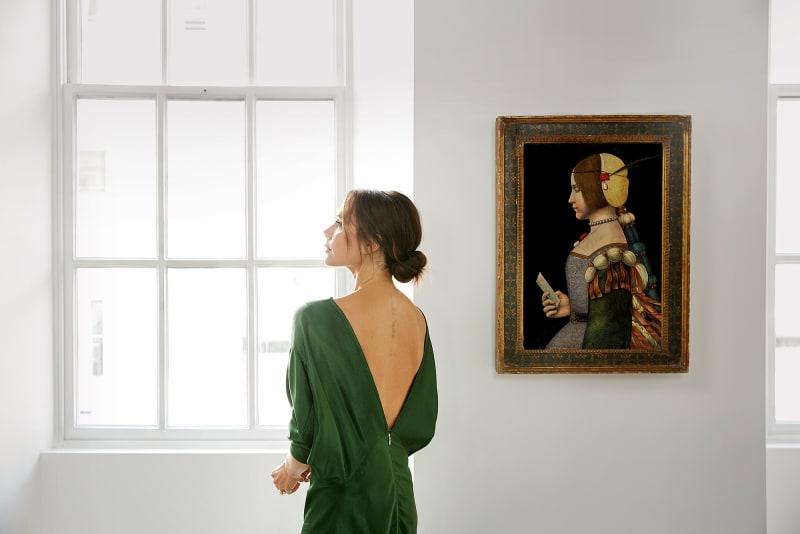 "2. Victoria Beckham, ""Old Masters"""