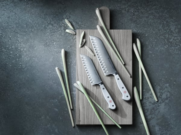 Messer-Set Classic White