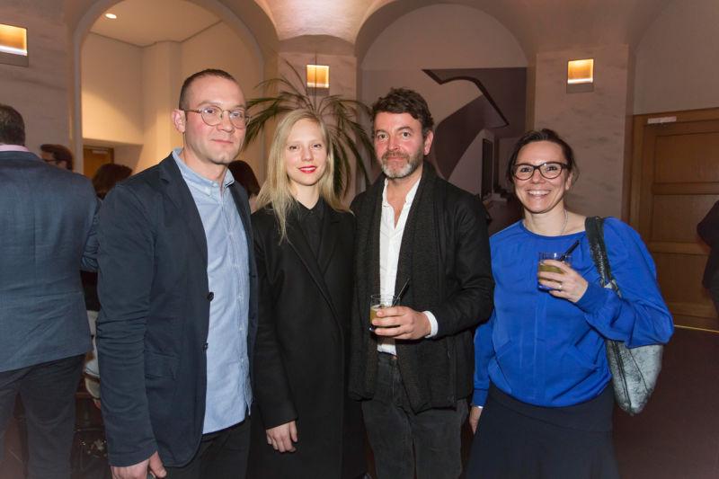 Leon Ransmeier, Tiffany Lambert, Christian Haas und Andrea Luft