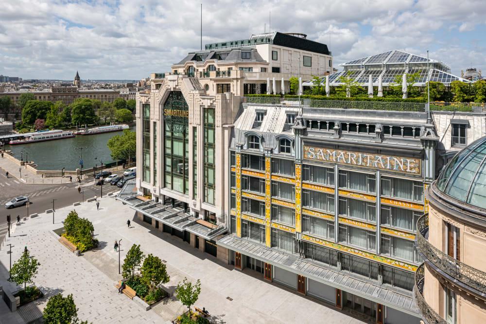 Das berühmteste Kaufhaus von Paris ist wieder da: La Samaritaine feiert seine Wiederöffnung