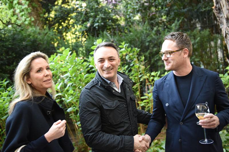 Oscar Napolitano, Sabine Altmann und Oliver Jahn.