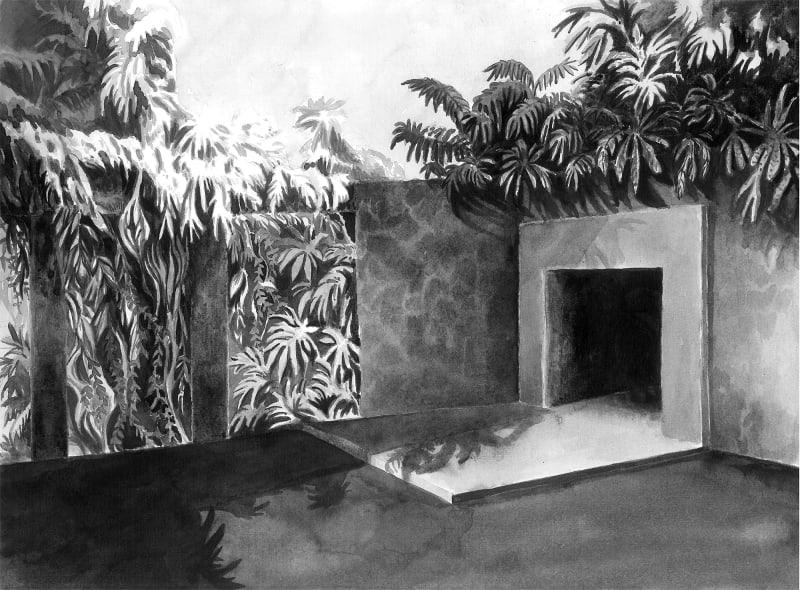 Yoann Pisterman, Painting, Ici Est Pas Là