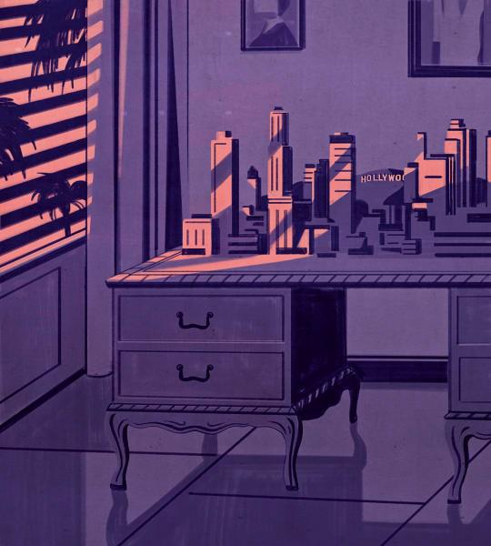 Der wuchtige Schreibtisch folgte Thomas Mann auf alle Stationen im Exil.