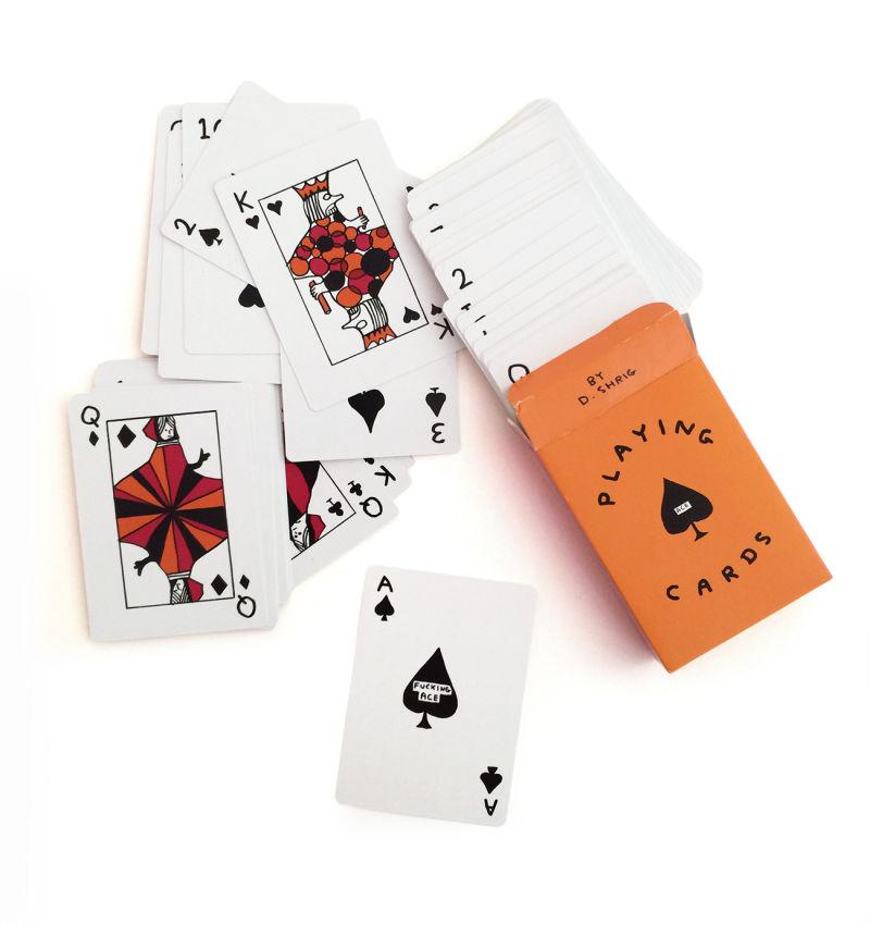 David Shrigley Spielkarten