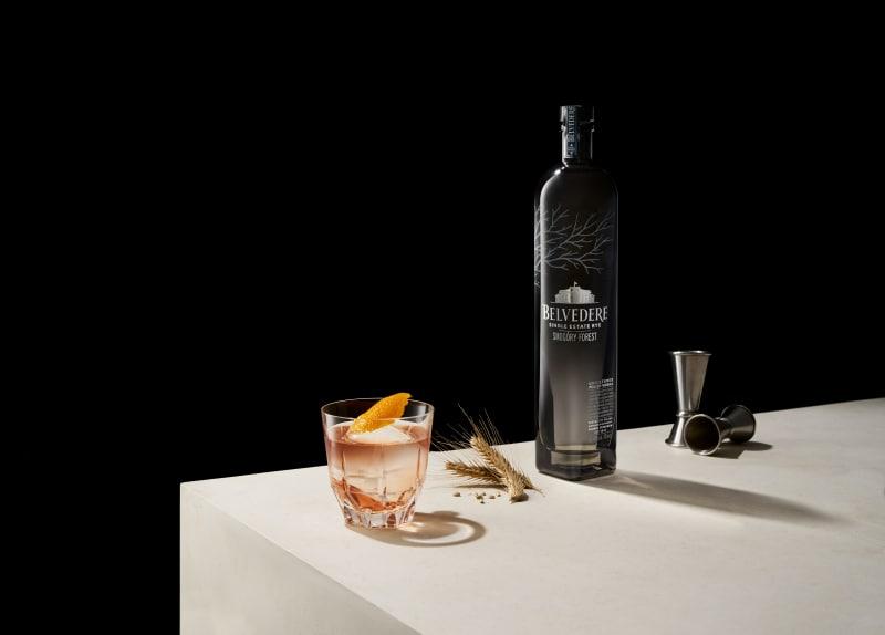 Vodka Bespoke Silver Saber von Belvedere