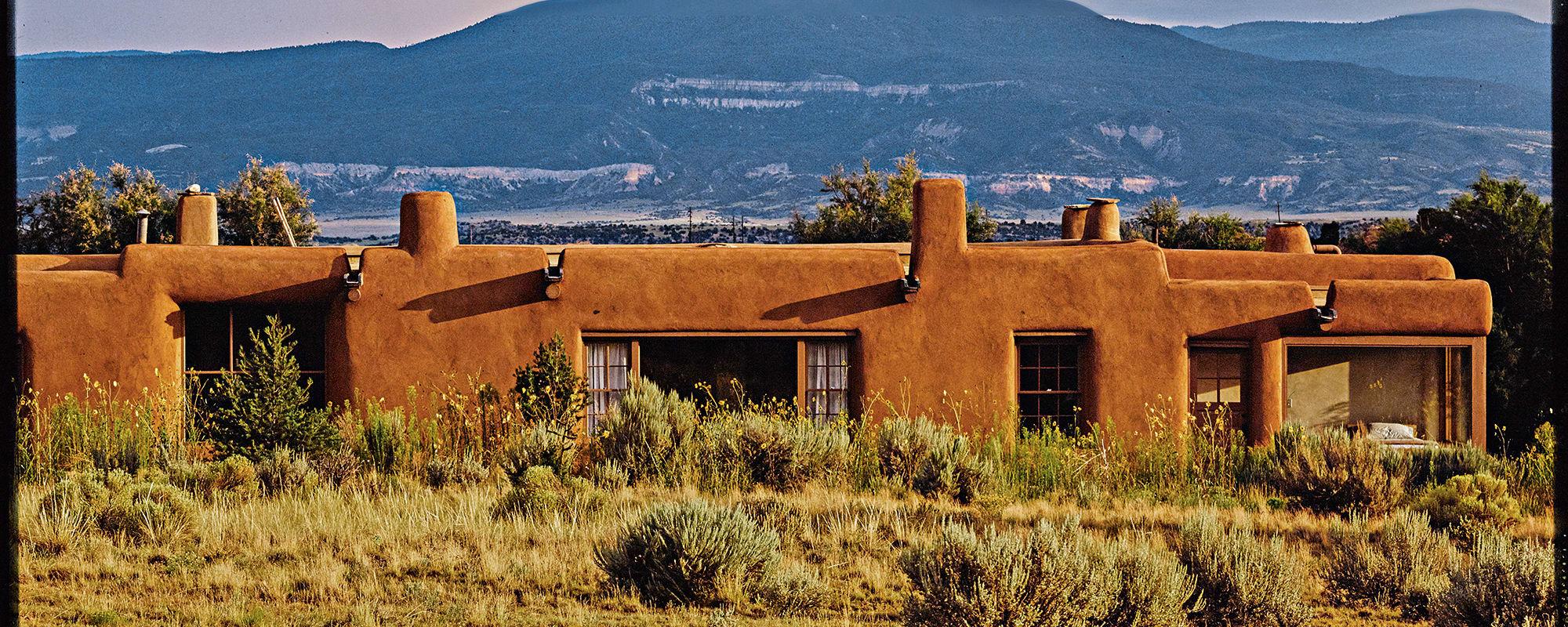 Georgia O'Keeffe, Villa, Pueblo, Architektur, New Mexico