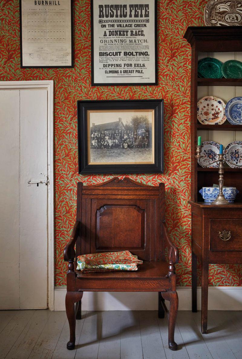 Farmhouse Ben Pentreath mit William Morris 8