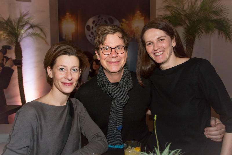 Sybille Fleckenstein, Jens Pohlmann und Martina Pohlmann