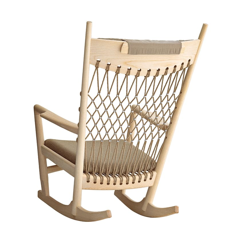 """PP 124 Rocking Chair"""
