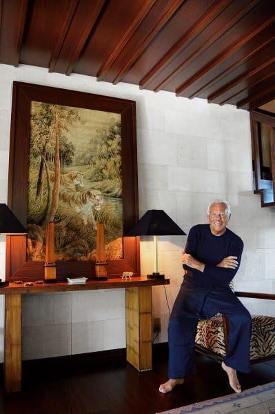 Giorgio Armani, Porträt