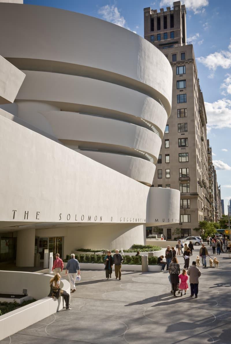 Guggenheim Museum Fasade