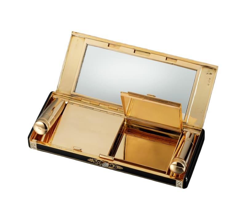 Vanity Case mit Zypressen-Motiv Cartier