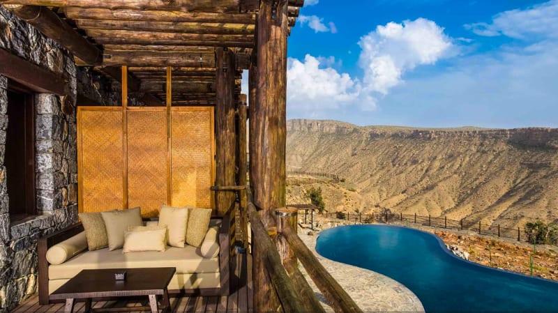 "4. Oman, ""Hotel Alila Jabal Akhdar"""