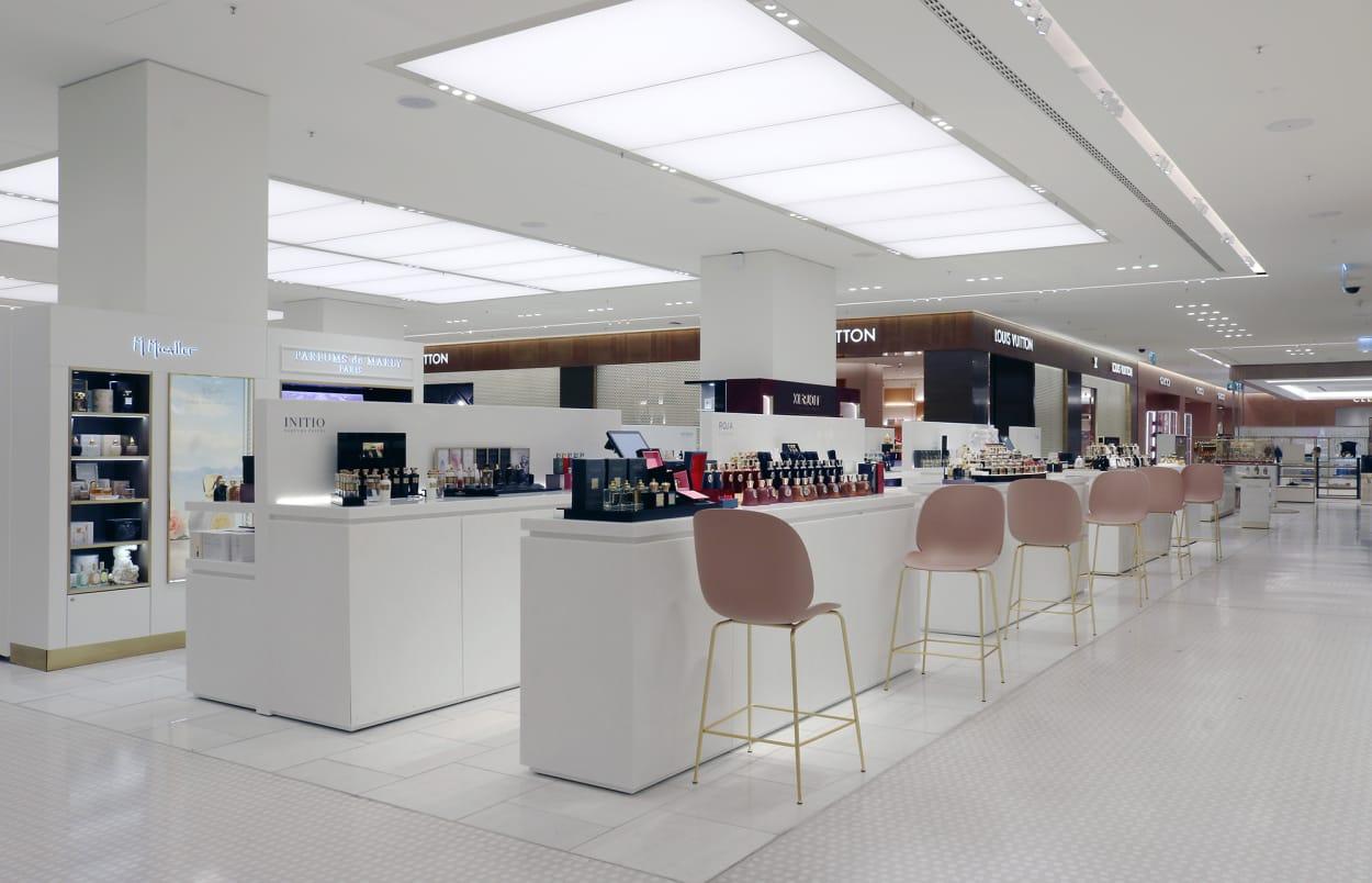 John Pawson, Oberpollinger, Umbau, Interior, Beton, Inspiration, Shop, Einkaufszentrum,