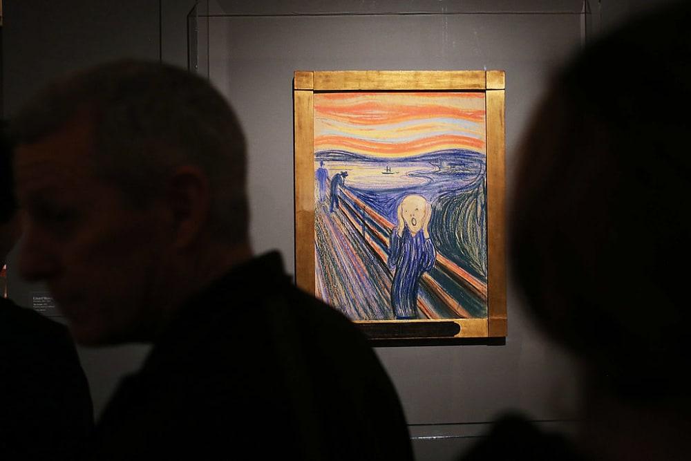 """Schönes Versteckspiel! Das ungelüftete Geheimnis hinter Edvard Munchs """"Der Schrei"""""""
