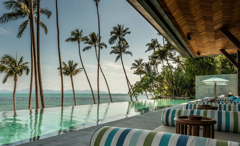 "10. Thailand, ""Four Seasons Koh Samui"""