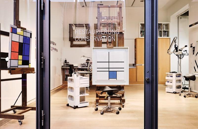Glasdurchsichten Fondation Beyeler