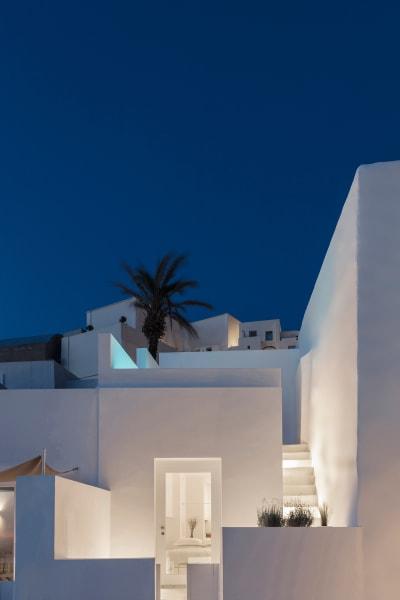 Sommerhaus Fira bei Nacht