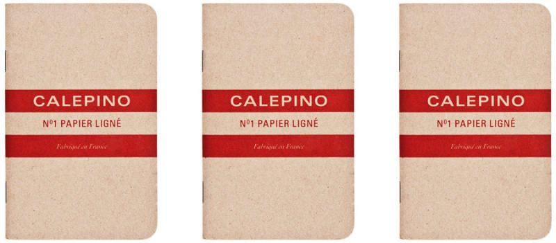 3-Pack Calepino Notizbuch