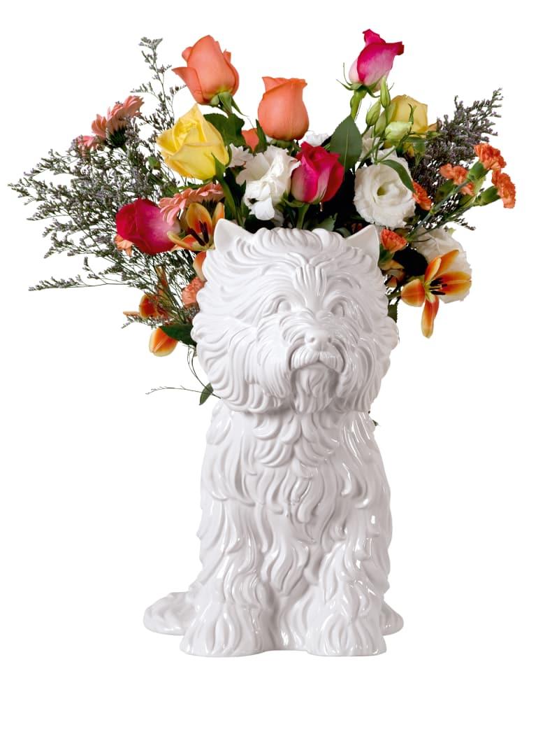 "2. Jeff Koons: ""Puppy Vase"""