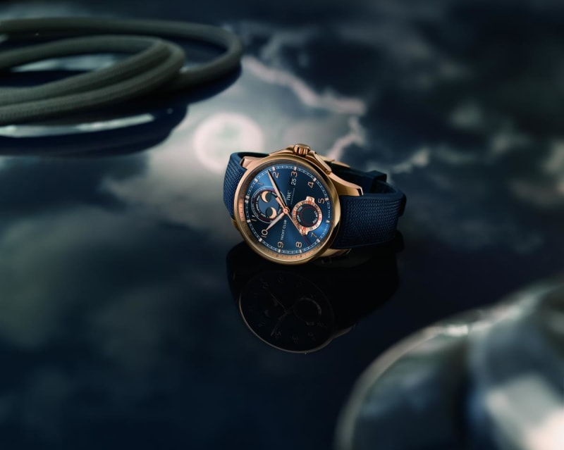 """Portugieser Yacht Club Moon & Tide"""