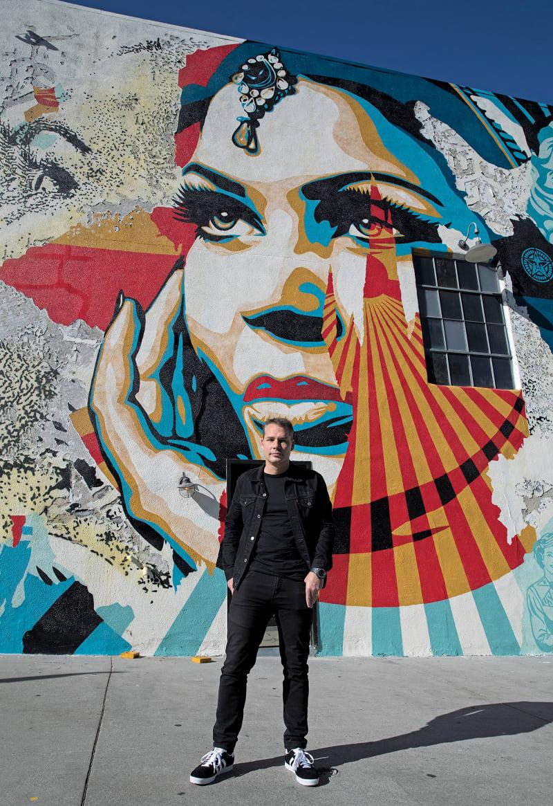 Shepard Fairey in L.A.