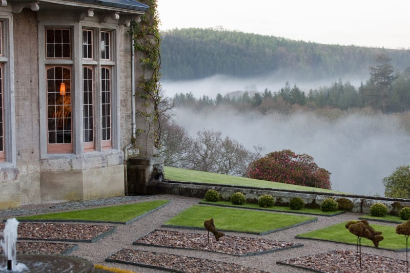 "Hotel ""Endsleigh"" in Devon."