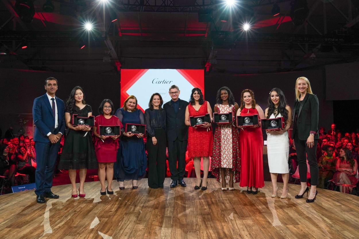 Cartier, Preisverleihung, Womens Initiative
