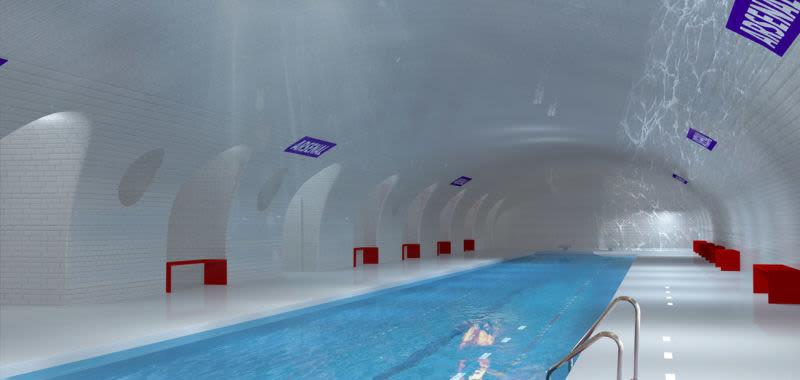 21. Arsenal Metro Pool, Frankreich