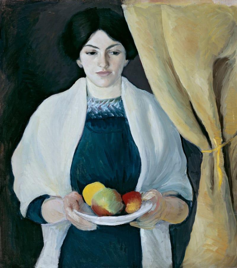 Macke_Elisabeth_mit_Aepfeln_1909_Lenbachhaus_gross