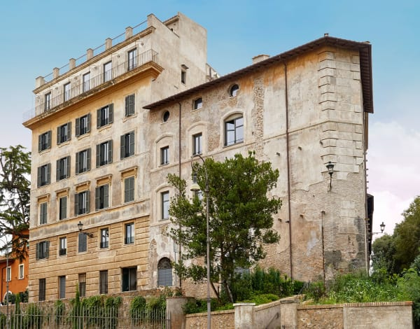 Das Gebäude der Galerie Rhinoceros, in dem sich die Apartments befinden.