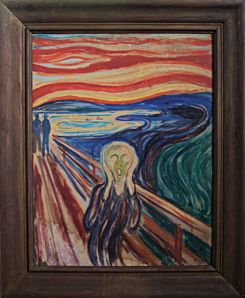 Kopie Edward Munch Schrei