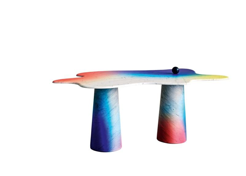 "6. Bloc-Studios, ""Ondamarmo XL Table"""