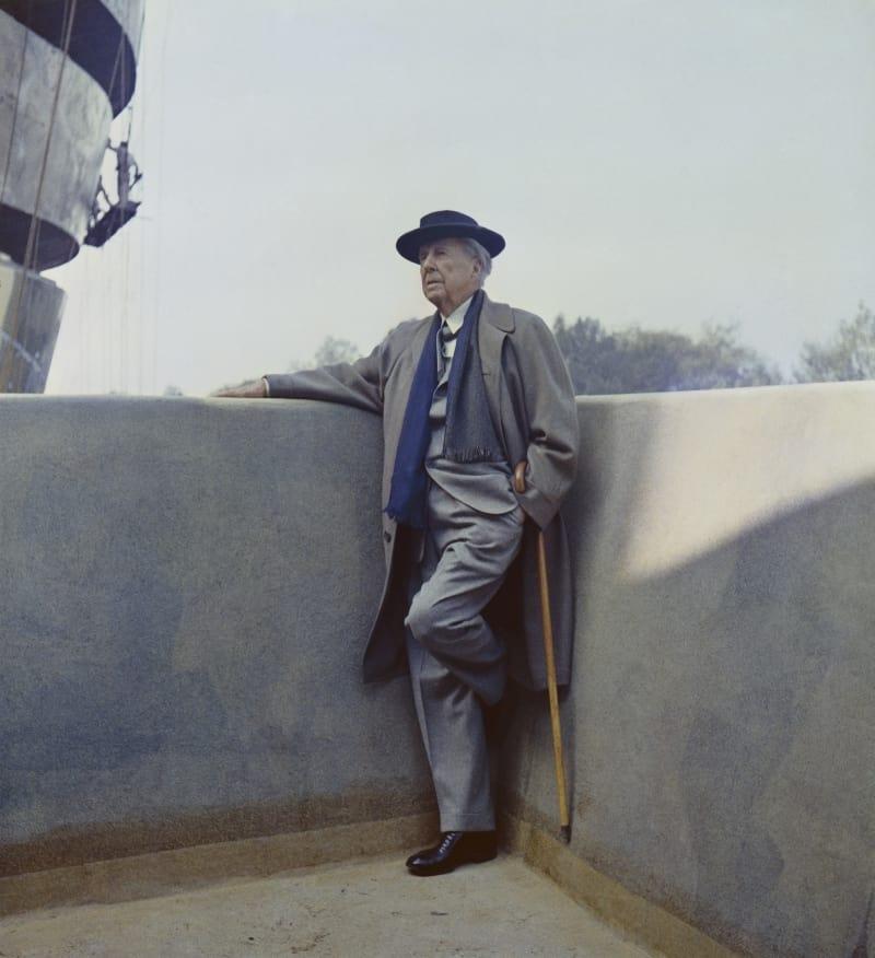 Frank Lloyd Wright Portät bunt