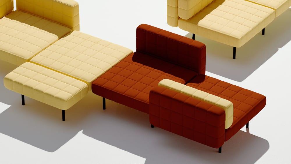 Pixel-Design: Das modulare Sofasystem von BIG