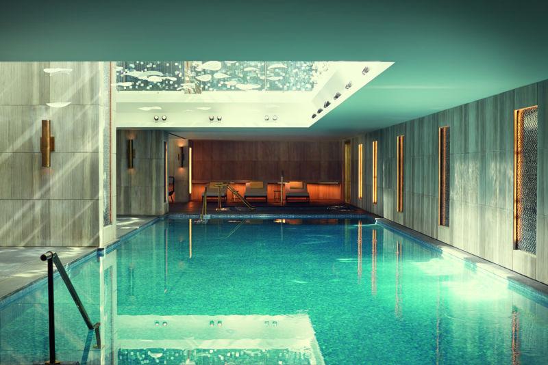 Raffles Istanbul: Pool