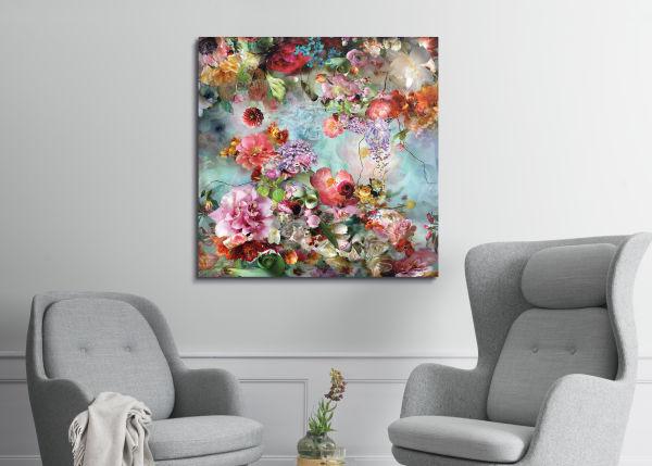 Die Belgierin Isabelle Menin lässt sich für ihre digitalen Blumen-Kompositionen von flämischen Meistern wie Peter Paul Rubens, Jan Van Eyck und Hans Memling inspirieren.