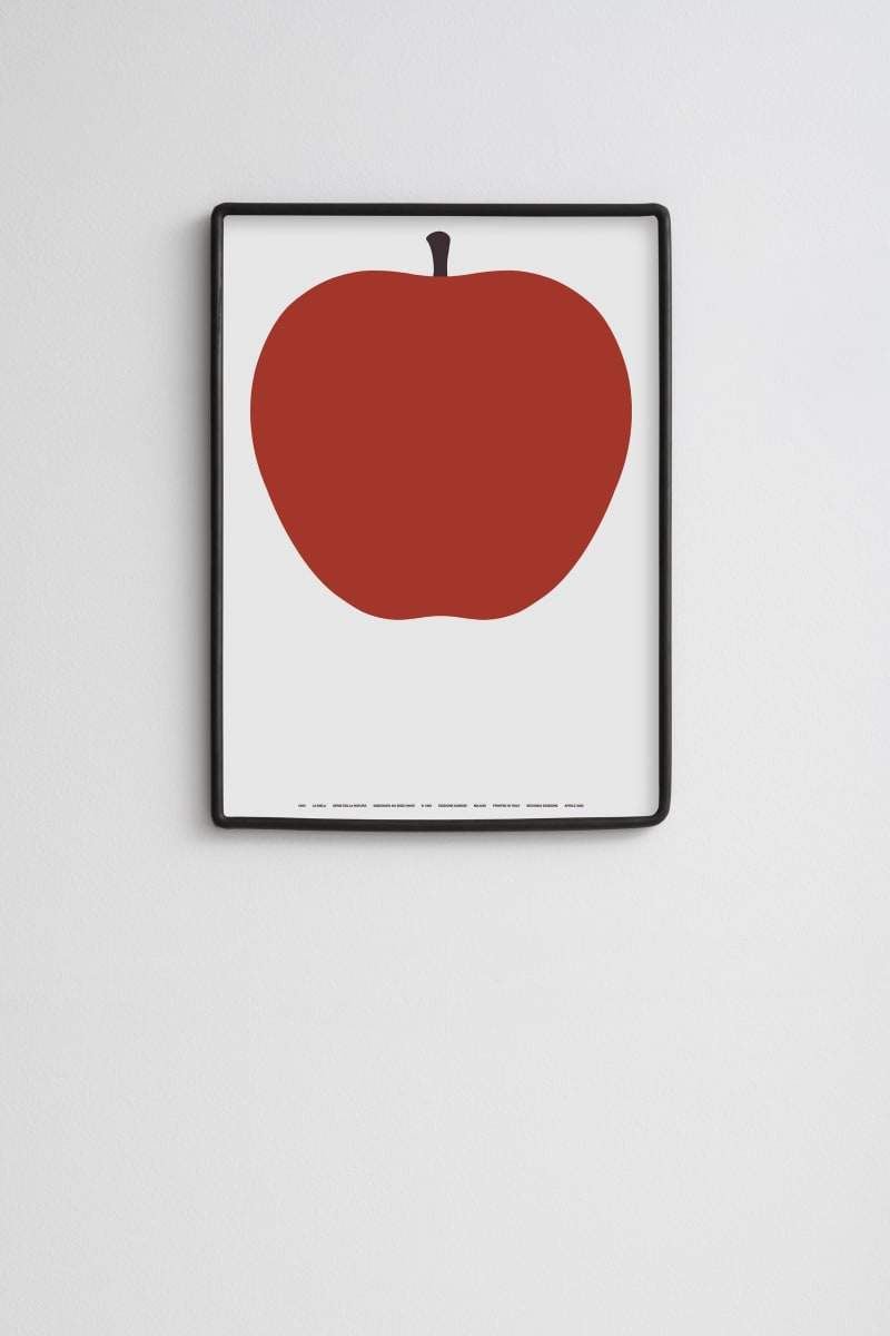 Poster mit Motiv von Enzo Mari