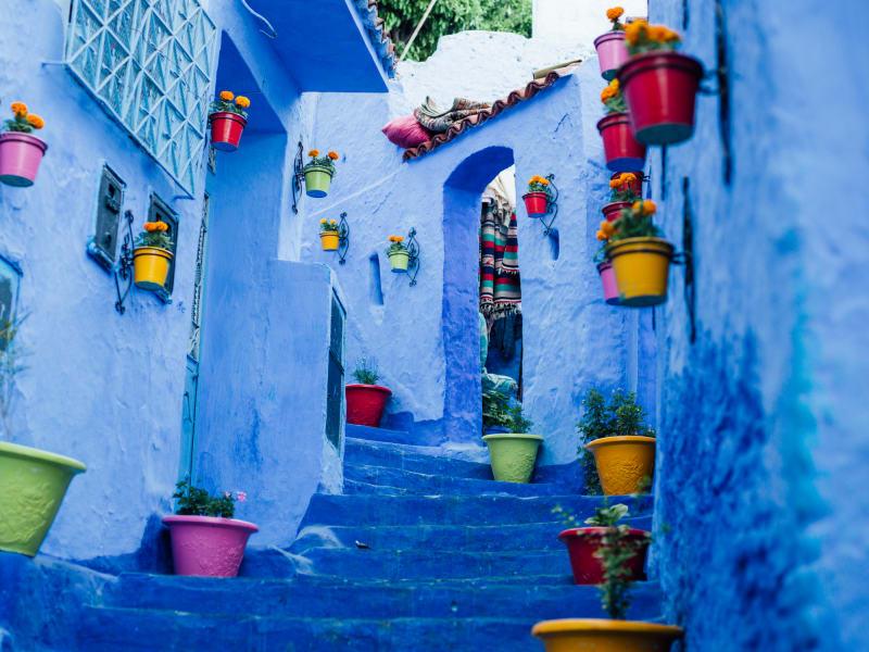 10. Chefchaouen, Marokko