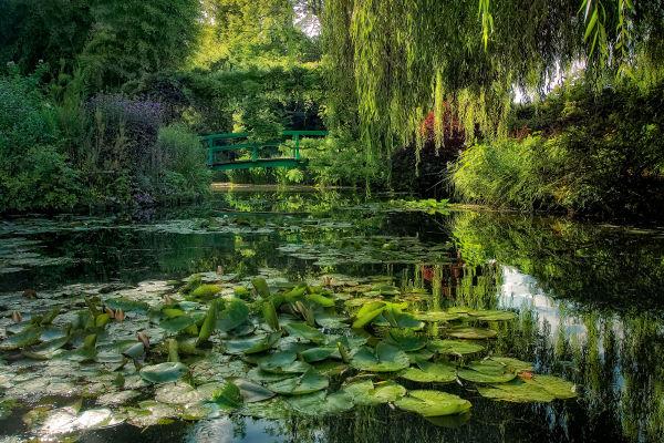 Claude Monets Garten in Giverny