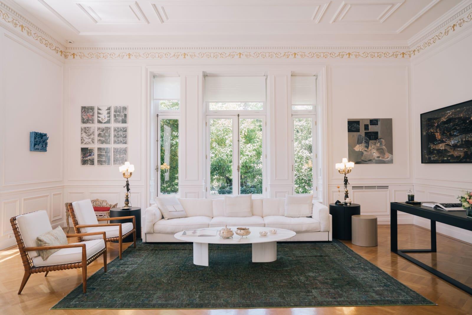 Villa Maximos - Wohnzimmer